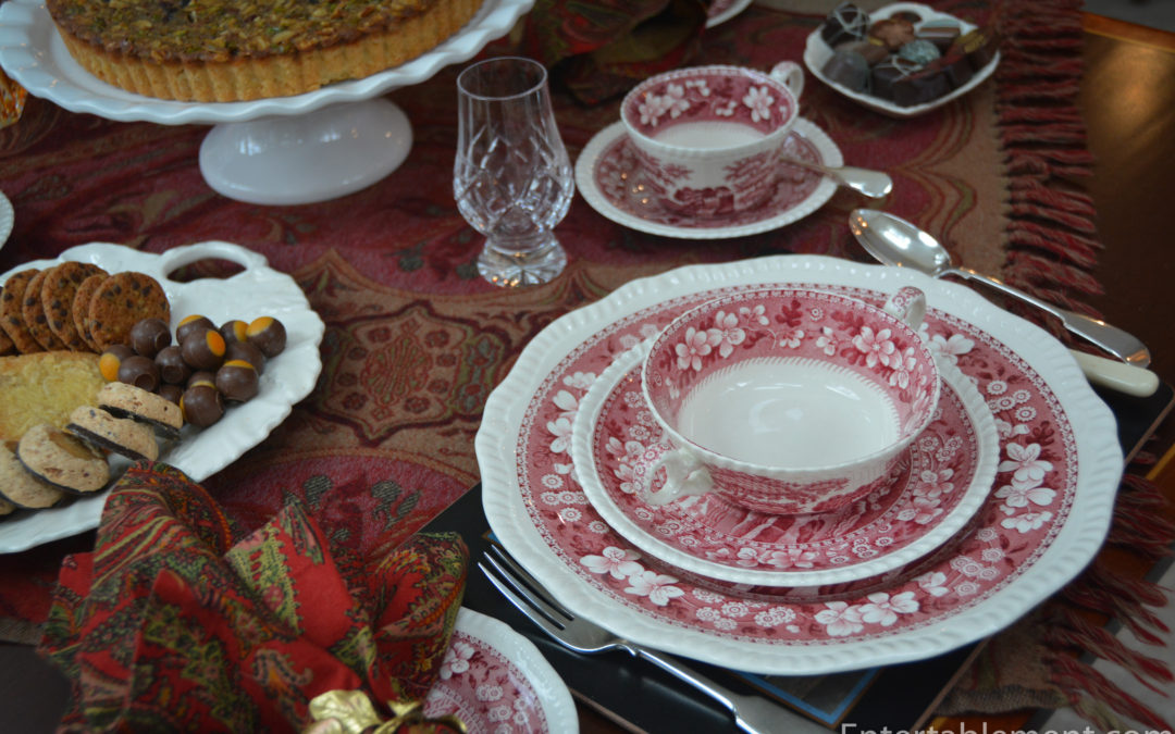 A Scottish Themed Tea with Paisley and Spode