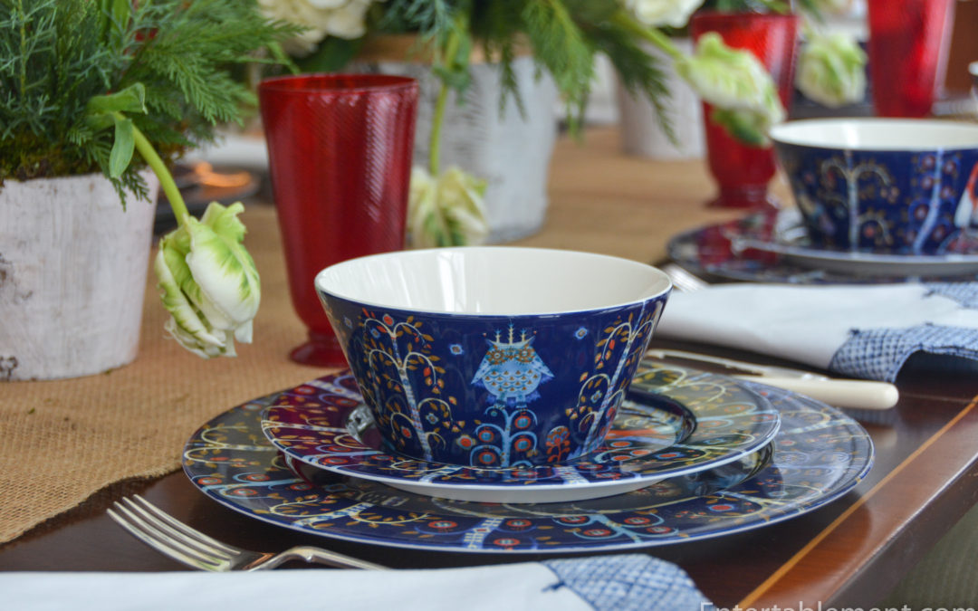 A Magical Folklore Table with Taika by Iittala