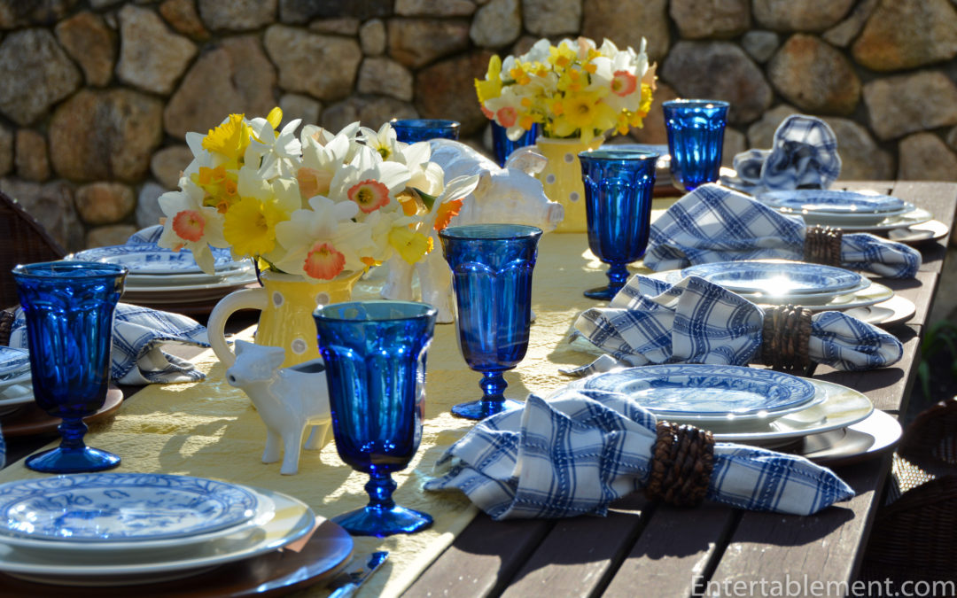 Blue & White with Brittany by Williams Sonoma