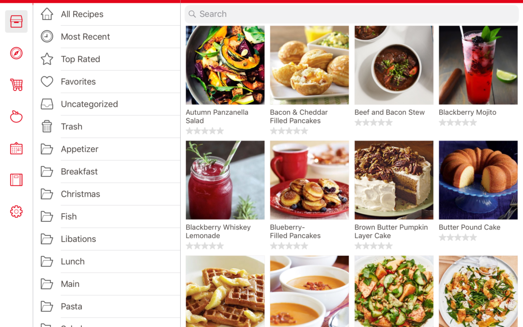 Paprika App for Recipe Organization, Grocery List and Meal Planning
