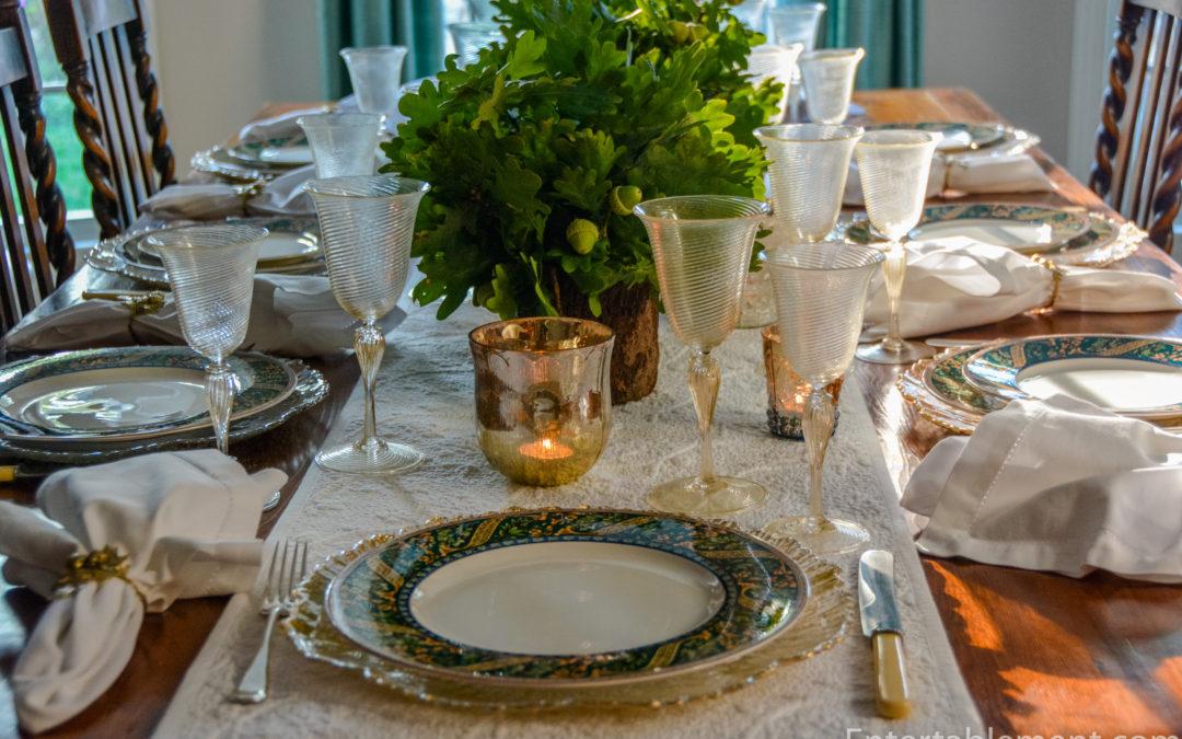 An Autumn Harmony Table &  Some Sad News