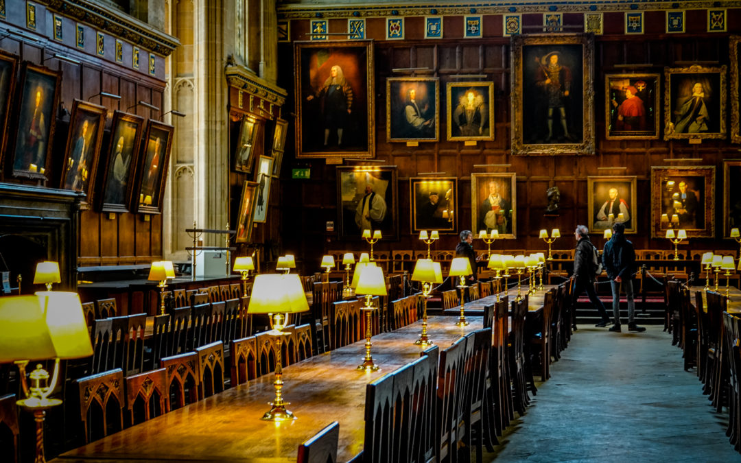 Entertablement Abroad – Christ Church College, Oxford