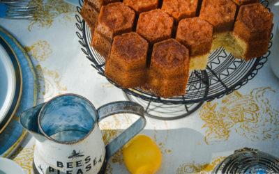 Lemon Honeycomb Cake