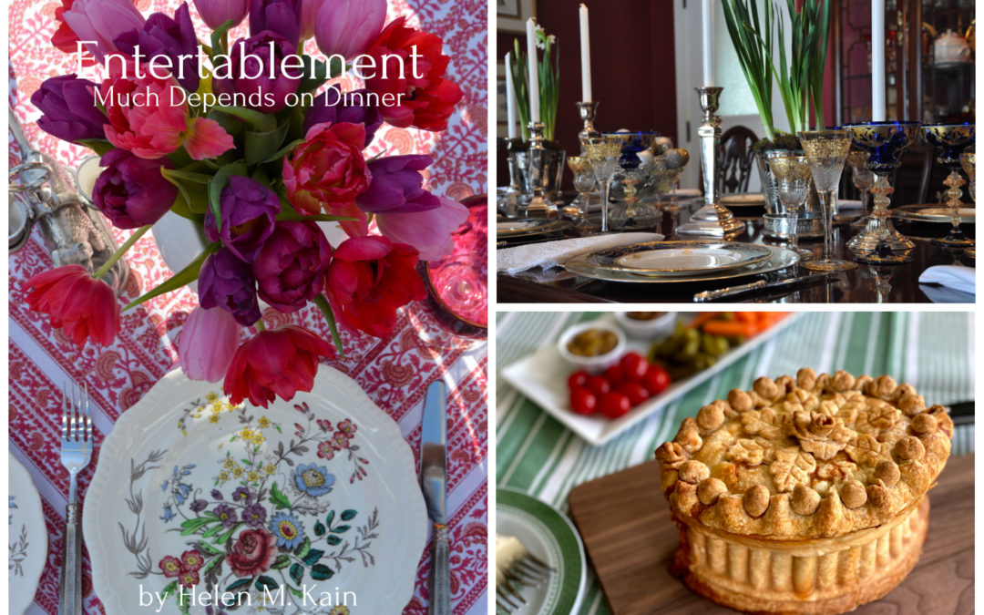 Entertablement—Much Depends on Dinner is Here!