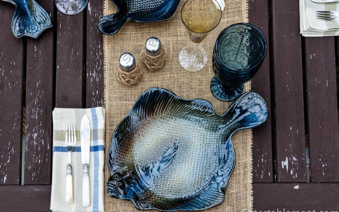 Artisan Fish Plates