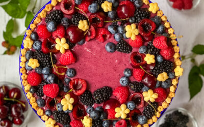 Mixed Berry Curd Tart