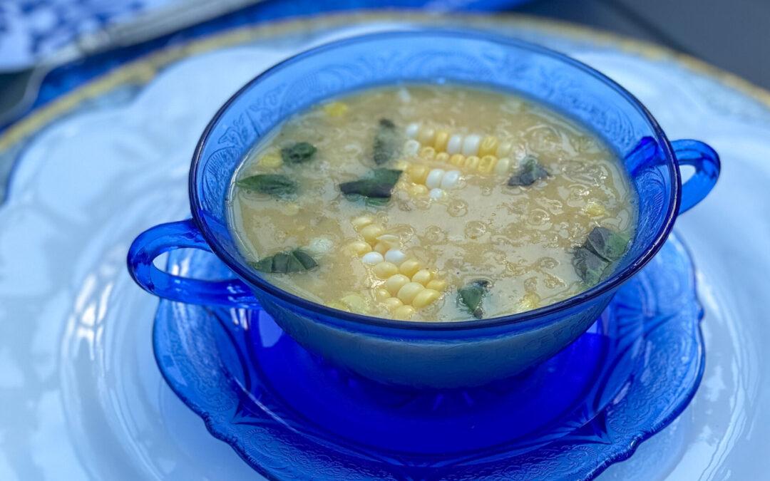 Creamy Corn Crab Bisque